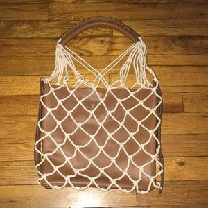 Mango Violeta Combined Net Summer bag